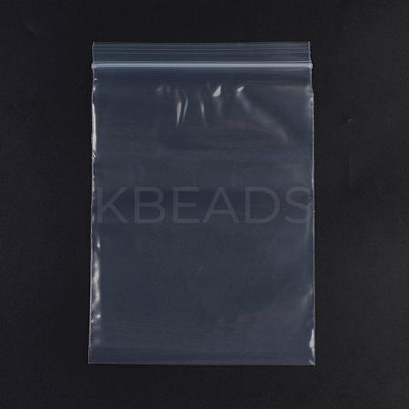 Plastic Zip Lock BagsOPP-G001-B-16x24cm-1