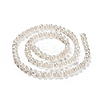 Grade A Natural Cultured Freshwater Pearl Beads StrandsX-SPPA001Y-1-2