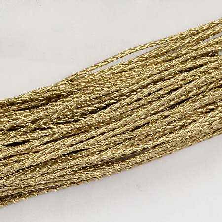 Braided Imitation Leather CordsLC-S005-056-1
