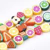 Handmade Polymer Clay Beads StrandsX-CLAY-S092-24-1