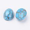 Natural Turquoise CabochonsG-E414-01-2