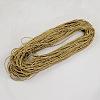 Braided Imitation Leather CordsLC-S005-056-2