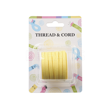 Faux Suede Cord X-LW-R003-4mm-1063-1