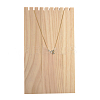 Wooden Necklace Jewelry Necklace HolderBDIS-WH0002-04-2