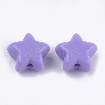 Opaque Acrylic BeadsX-MACR-S296-74-1