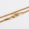 304 Stainless Steel Lantern Chain Necklace MakingsSTAS-P045-08-4