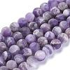 Natural Amethyst Beads StrandsX-G-I288-A01-8mm-1