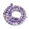 Natural Amethyst Beads StrandsX-G-I288-A01-8mm-2