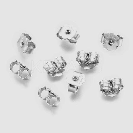 925 Sterling Silver Ear NutsSTER-K167-039P-1