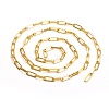 Brass Paperclip ChainsCHC-L044-01A-G-3