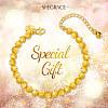 SHEGRACE® Brass BraceletsJB630A-5