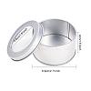 BENECREAT Round Iron Tin CansCON-BC0005-22-2