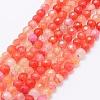 Natural Agate Beads StrandsX-G-E469-12L-1