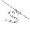 SHEGRACE® 925 Sterling Silver Pendant NecklaceJN556B-3