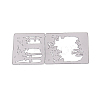 Carbon Steel Cutting Dies Stencils DIY-F032-16-2